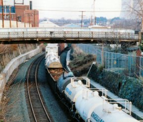Tracks that currently carry industrial trains through Pottstown PA would also be used for passenger service from Norristown to Reading PA under a new proposal.