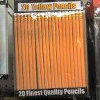 Pencils, a schoolbag staple