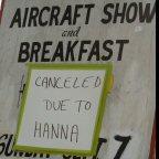 Bummer; no breakfast.