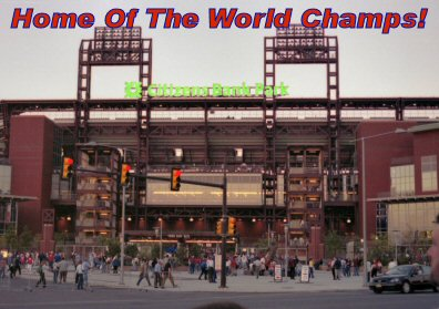 """The Phillies won the 2008 World Series Wednesday night. See """"Home Of The World Champions."""""""