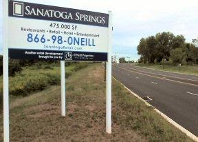 "Promoting ""Sanatoga Springs."""