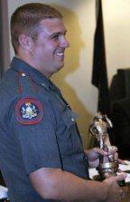 Patrolman Dan Kienle.