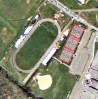 Aerial photo of Pottsgrove stadium.