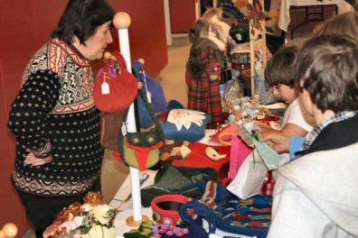Crafts were selling Saturday at Ringing Rocks.
