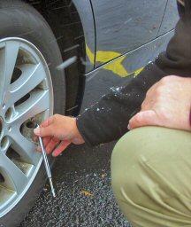Check your tire pressure.