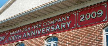 Sanatoga firefighters announced their 100th anniversary Sunday.