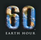 The Earth Hour logo.
