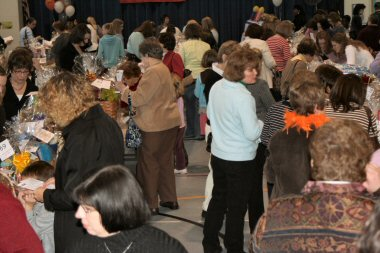 Hundreds attended the event Friday night at North Coventry Elementary School.