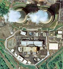 Limerick Nuclear, as seen from overhead in a 2007 file photo from Google Maps.