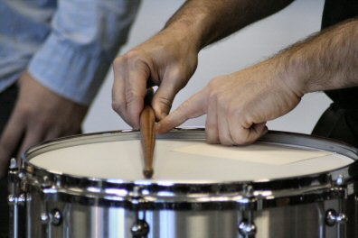 Better ways to bang a drum were explored Saturday during the Pennsylvania Day of Percussion held at Pottsgrove High School.