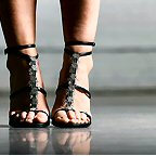 Dancin' shoes.