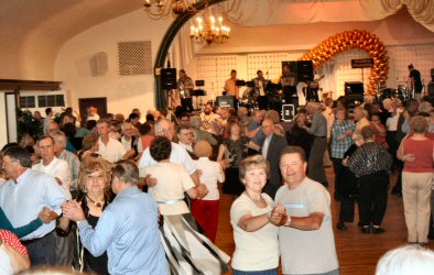Sunnybrook's dance floor was filled with people Sunday, some of whom were visiting the Pottstown area for the first time.