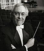 Guest conductor Jack Moore.