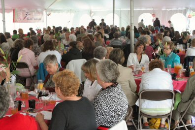 Hundreds of women participated in Sunday's anniversary of the PMMC Healthy Woman program.