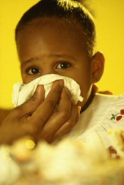 The CDC worries about school children the flu.